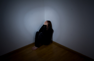 Image result for woman in corner