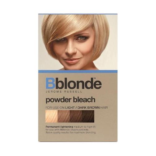 Jerome Russell Powder Bleach High Lift 100g | Dark Brown Hairs